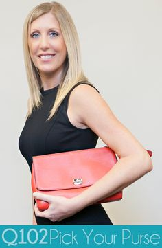 Coach - Legacy Clutch. Go to wkrq.com to find out how to play Q102's Pick Your Purse!