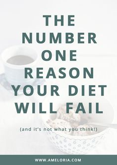 """What if I told you """"only 16% of people maintain their weight loss after dieting"""". Find out why so that you can be part of that 16%. 