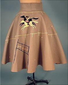 The original poodle skirt