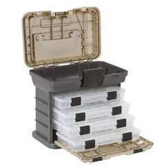 Plano Molding 1354 Stow N Go Tool Box with 4 23500 Series StowAways, Graphite Gray and Sandstone * Find out more about the great product at the image link.