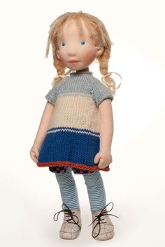 Zelma - Handmade cloth doll (partial payment accepted)