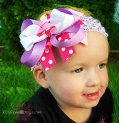 Save Money on Boutique Hair Bows for Back to School Fashion #Mompact
