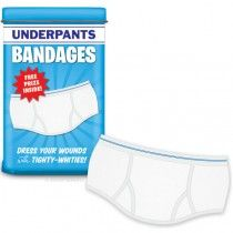 Accoutrements Underpants Band Aids