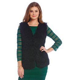 M.S.S.P. Faux Fur Vest
