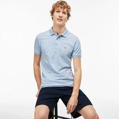 fd9050336d Lacoste Polos Mens Chaland Chine Men's Slim fit Polo Shirt in stretch petit  piqué Sale Slim