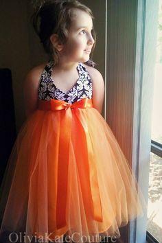 Tangerine Dress.... oliviakate.com