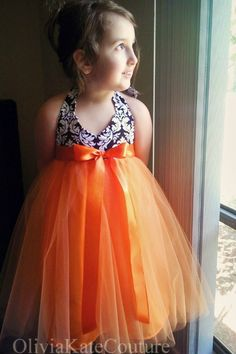 Tangerine Dress.... oliviakate.com