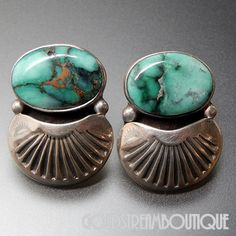 Native American Orville Tsinnie Old Navajo Sterling Silver American Tu – Gold Stream Boutique