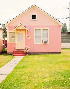 Petite maison rose