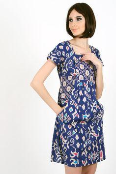 Asmirah Batik Dress www.pinkemma.com