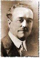 """Charles Fox Parham (1873–1929), called the first Pentecostal theologian, and the man credited with originating the """"tongues is the initial evidence of the baptism in the Holy Spirit"""" doctrine. He believed only an elite group within the Church would be raptured and rule the nations. A would-be empire builder, he lost his influence in the Pentecostal movement when he was accused of a homosexual liaison. He then went on to champion racial segregation and the cause of the Klu Klux Klan."""