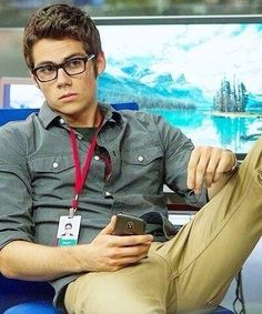 Dylan O'Brien!!! I know you guys have fully been informed about my love of him but I seriously cannot help it... :)
