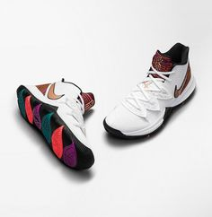 Explore and buy the Nike Kyrie 5 'BHM' Stay a step ahead of the latest sneaker launches and drops. Kyrie 5, Nike Kyrie, Nike Basketball Shoes, Nike Shoes, Basketball Stuff, Nike Zoom, Irving Shoes, Air Max Sneakers, Sneakers Nike