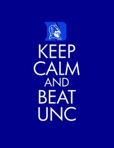 haha YES! #Duke