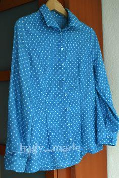 Jeansbluse Shirt Dress, Mens Tops, Shirts, Dresses, Fashion, Vestidos, Moda, Shirtdress, Fashion Styles