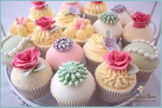 Vintage Cupcakes | Flickr: Intercambio de fotos