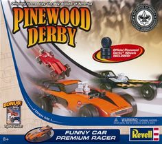 Revell Convertible Starter Series Pinewood Derby Vehicle Kit