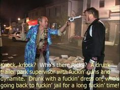 Frig off, Lahey. Tv Show Quotes, Movie Quotes, Ricky Tpb, Sunnyvale Trailer Park, Trailer Park Boys, Phil Collins, Hilarious, Funny, Digital Media