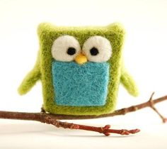 For the nursery.  I REALLY really need to learn how to felt.  This is amazingly cute!