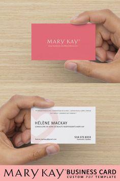 Mary Kay Business Card Design - Custom PDF Contact me: Call/Text: 440.503.0744 Email: lflocken@marykay.com Facebook: www.facebook.com/lauren.flocken.7 Website: www.marykay.com/lflocken