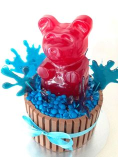 how to make a giant gummy bear recipe