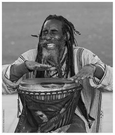 "Joy drumming. Research by DdO:) http://www.pinterest.com/DianaDeeOsborne/instruments-for-joy - A djembe (also djembé, jembe, jenbe, djimbe, jimbe, dyinbe): pron JIMbay. Rope-tuned skin covered goblet drum played bare hands. Body (or shell) carved of hardwood. Drumhead = untreated rawhide, usually goatskin. From West Africa. According to the Bamana people in Mali, ""djembe"" from saying ""Anke djé, anke bé"": ""everyone gather together in peace"", defining drum's purpose. Bambara: djé=gather…"