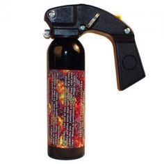 This Wildfire 18% pepper gel spray is a great weapon to have for home defense.