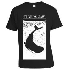 5b958e8878c Tigers Jaw - Whale shirt Jaws Shirt