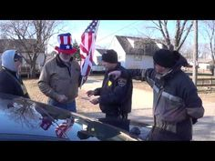 ▶ Town of Campbell.. WI. Police Write Citations For Displaying US Flag - YouTube PLEASE MAKE THIS GO VIRAL!!!!!!