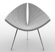 Silla de diseño orgánico by EOLE comercializada por Ludovic-avenel