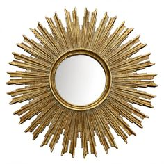 Wisteria Sunburst on the Scene Mirror