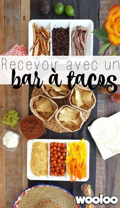 Voici comment recevoir sans stress avec un bar à tacos !