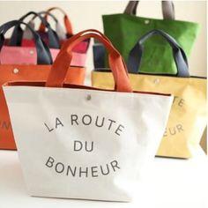 La Route Du Bonheur Tote Bag