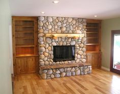 7 Bliss Clever Ideas: Living Room Remodel On A Budget Builder Grade livingroom remodel ideas.Livingroom Remodel Foyers living room remodel with fireplace layout.Living Room Remodel Before And After Benjamin Moore. Stone Fireplace Decor, Living Room With Fireplace, Fireplace Surrounds, Fireplace Design, Fireplace Ideas, Fireplace Makeovers, Faux Fireplace, Cozy Basement, Rustic Basement