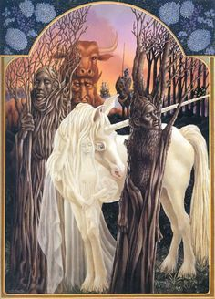 THE LAST UNICORN BY LEO AND DIANE DILLON