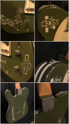 Metalin TOC custom guitar.