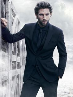 RJ Rogenski Takes a Stand for BOSS Black Winter 2012 Campaign