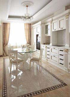 49 ideas for kitchen interior design decor layout Design Shop, Küchen Design, Floor Design, House Design, Design Trends, Modern Kitchen Design, Interior Design Living Room, Room Interior, Classic Interior