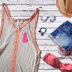 SS2017 Beachwear Tunic