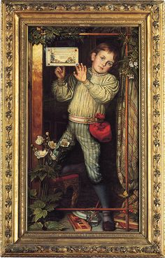 "William Holman Hunt (1827-1910), ""Master Hilary - The Tracer"""