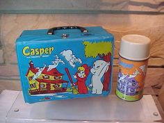 Casper The Friendly Ghost  Lunch Box With Thermos