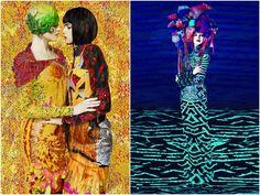 Mary Katrantzou x Erik Madigan Heck ,, stunning