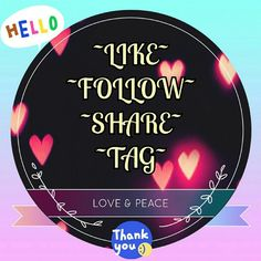 NEW FOLLOW GAME! LIKE, FOLLOW, SHARE, TAG PART 2 JOIN ME! Let's all gain more followers and make happy connections! =D  1. LIKE THIS LISTING 2. FOLLOW ALL POSHERS who have liked this 3. SHARE THIS LISTING with your followers as much as you can 4. TAG 3 OTHER POSHERS  ~*WATCH YOUR FOLLOWERS GROW BY THE DAY!*~   {{LET'S HELP EACH OTHER REACH ALL OUR FOLLOW GOALS! *HELP ME REACH 15K!*}} Find my other follow game here in my closet, maxed out at 600 likes, but you can still benefit from following…