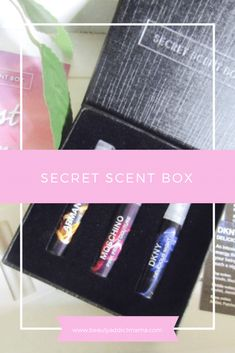 Secret Scent Box Unboxing and Review | beauty addict mama