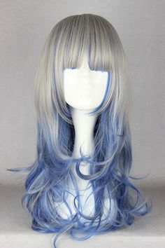 Fashion 60cm Long Color Mixed Beautiful Lolita Wig [LW021] - US$28.99 : Shop for cheap deluxe zentai suit & cosplay costumes-Cosplayexpert.com