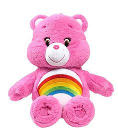 Just Play Care Bears Cheer Medium Plush with DVD *** Check this awesome product by going to the link at the image.
