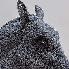 Using Only Galvanized Wire, This Artist Creates Lifelike and Life Size Animal Sculptures Armature Sculpture, Sculpture Art, Wire Sculptures, Sculpture Ideas, Photomontage, Statues, Chicken Wire Sculpture, Crafts For 2 Year Olds, Grandeur Nature