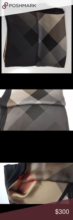 Burberry Silk Shawl Scarf Burberry 100% silk Shawl. Made in Italy. Model code: 4038268 Burberry Accessories Scarves & Wraps