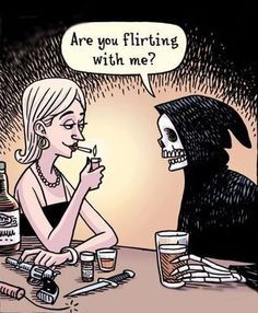 Flirting with death funny pictures funny quotes funny memes via jpg death humor quotes Funny Flirting Quotes, Flirting Texts, Flirt Quotes, Very Funny Pictures, Funny Photos, Colors Show, Funny Fails, Funny Memes, It's Funny