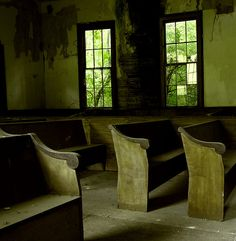 Image taken at a country cemetery abandoned church in…
